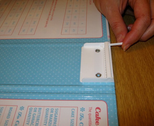 Cake decorating folder 3