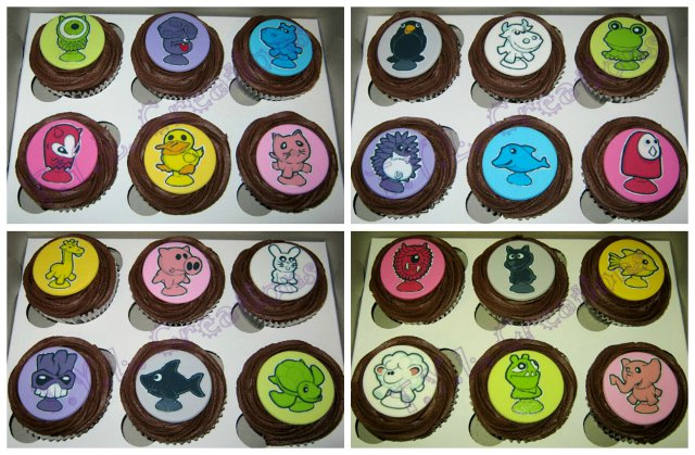 Cupcakes for kids with cancer collage 1