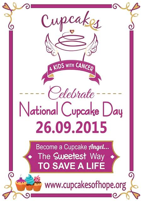 cupcakes 4 kids with cancer 2015 advert