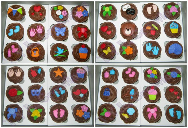 cupcakes for kids with cancer collage