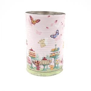 Serviette Decoupage Tins