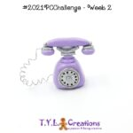 2021 Polymer Clay Challenge - Week 2