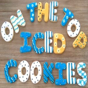 On the Top Iced Cookies